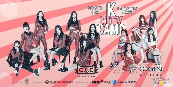 K City Camps - Gfriend & CLC 2018
