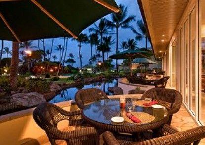 Kauai Beach Resort Teras