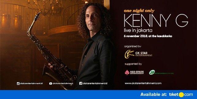 Kenny G Live In Jakarta 2018