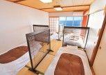 Pesan Kamar Asrama Umum, Hanya Perempuan, Pemandangan Samudra (4 People) di Khaosan Atami Onsen Ryokan & Hostel
