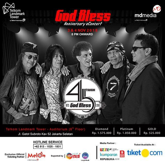Konser God Bless 45 tahun Anniversary Concert 2018