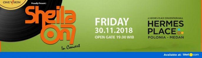 harga tiket Konser Sheila On 7 Medan 2018