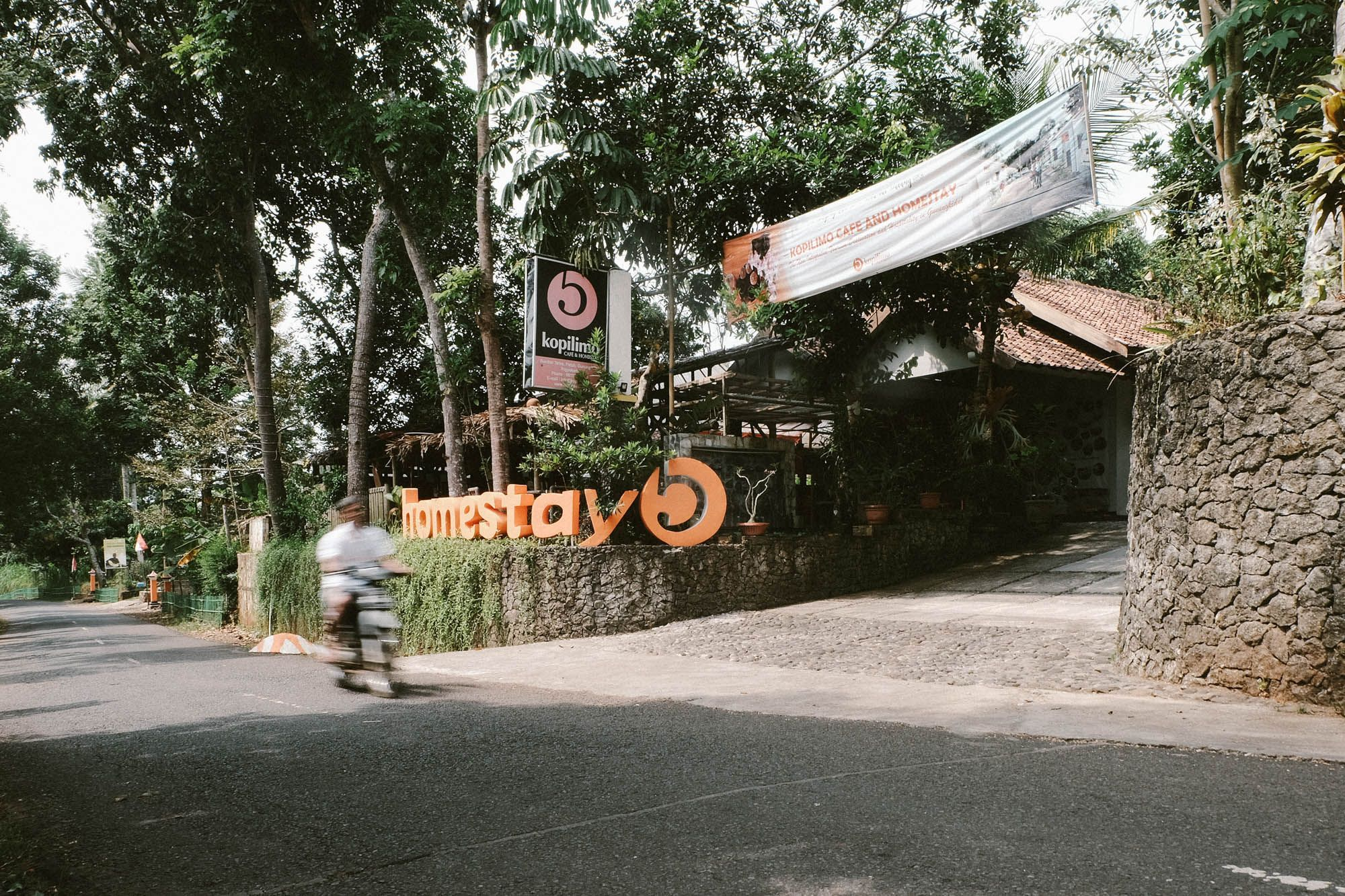 Kopilimo Cafe & Homestay, Gunung Kidul