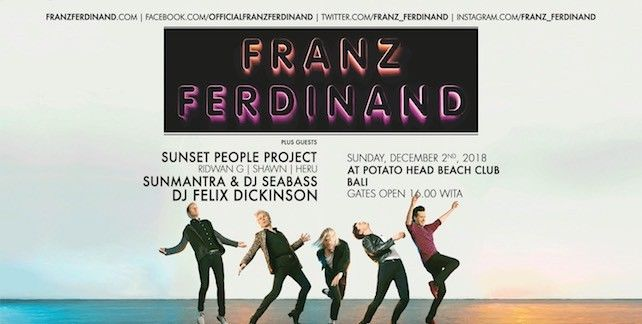 Lokasi Layout FRANZ FERDINAND AND THE LOCAL HEROES - BALI