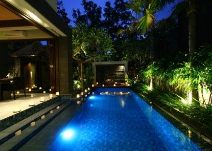 Le Jardin Boutique Villas Kolam Renang Pribadi