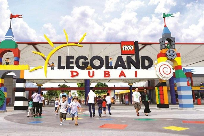 harga tiket Legoland Theme Park Full-Day Pass in Dubai