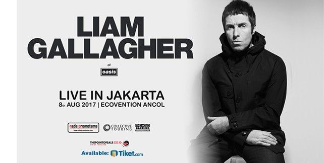 Liam Gallagher Live In Jakarta 2017