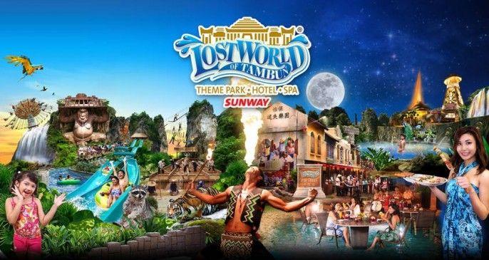 Lost World of Tambun Admission Ticket