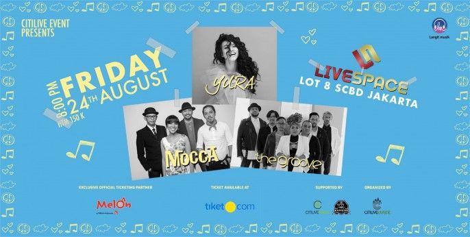 Love Like You Featuring Yura Yunita, The Groove & Mocca 2018