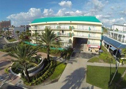Magnuson Hotel Clearwater Beach Teras
