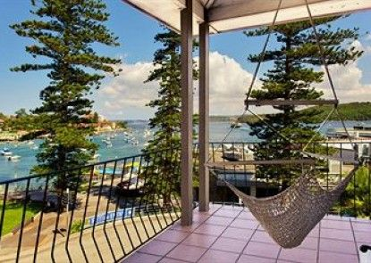 Manly Beach Bed & Breakfast Teras
