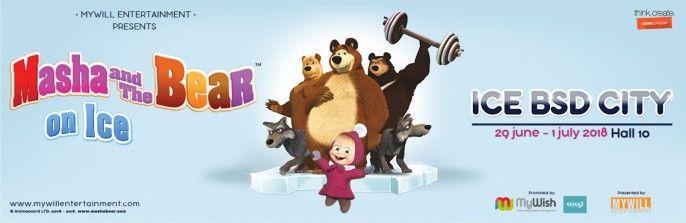 harga tiket Masha & The Bear on Ice - Show 2 (Sunday, 01 Juli 2018)