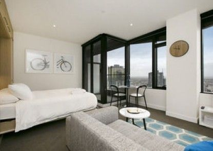 Melbourne Fully Self Contained Modern Studio Apartment 4505B
