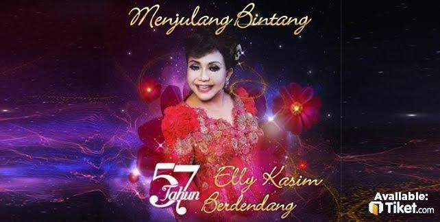 MENJULANG BINTANG, 57 TAHUN ELLY KASIM BERDENDANG