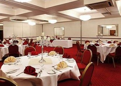 Mercure Chester North Woodhey House Hotel Teras