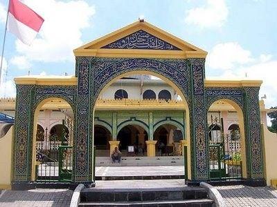 Mesjid Raya dan Makam Marhum Bukit serta Makam Marhun Pekan