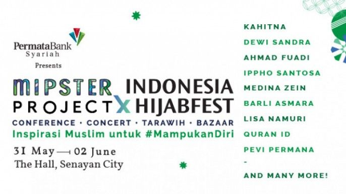 Mipster Project x Indonesia Hijab Fest 2018