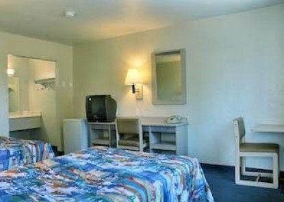Motel 6 Bakersfield East Teras