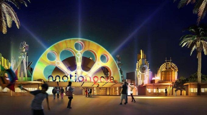 harga tiket Motiongate Dubai Full-day Pass