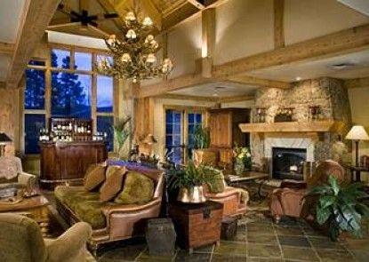 Mountain Thunder Lodge Teras