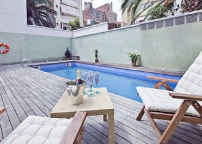 My Space Barcelona Gracia Pool Terrace Center