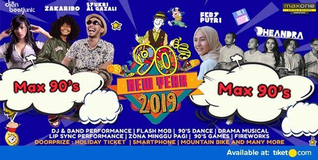 New Year 2019 - Maxone 90's