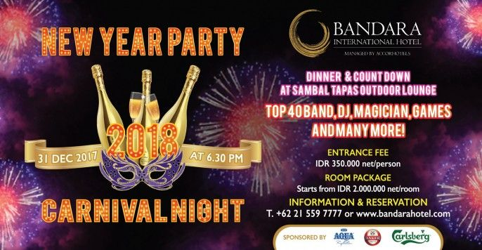 New Year Party 2018 Carnival Night