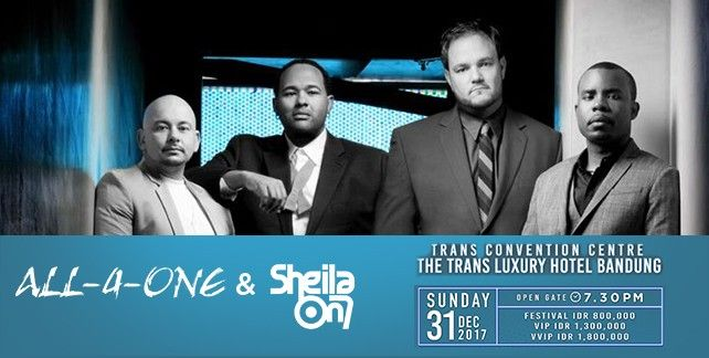 New Year's Eve Celebration With All 4 One and Sheila On 7