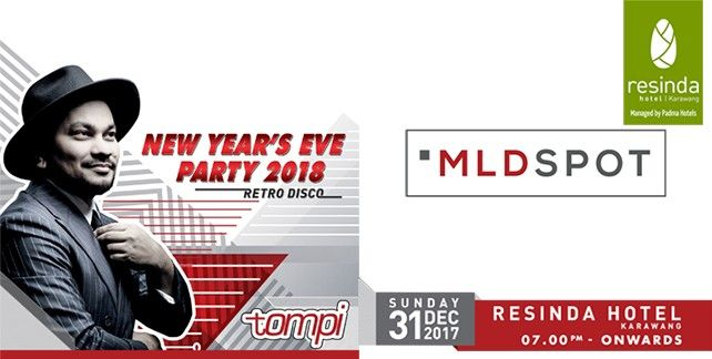 New Year's Eve Retro Disco With TOMPI