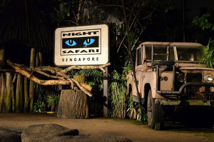 Night Safari Admission with Tram Ride (open-dated)