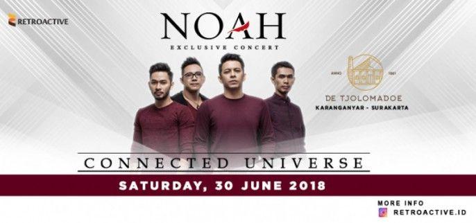 NOAH Exclusive Concert Connected Universe 2018