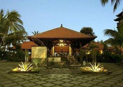 Nugraha Lovina Seaview Resort & Spa Teras