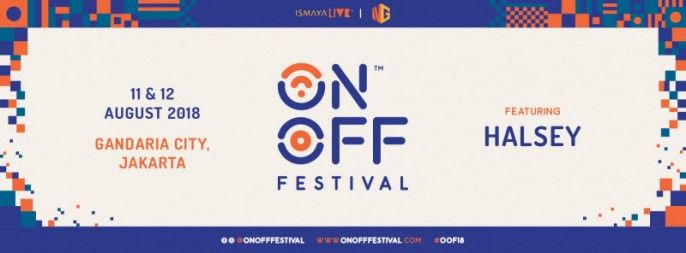 harga tiket ON / OFF FESTIVAL
