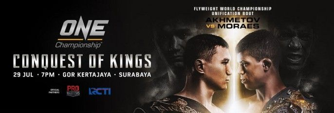 harga tiket ONE Championship Conquest Of Kings 2017