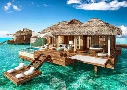 Over The Water Villas - Sandals RoyalCaribbean All Inclusive