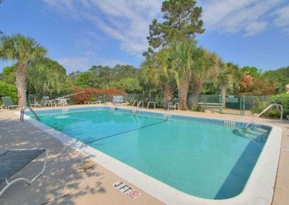 Palmetto Dunes Plantation by Hilton Head Accommodations Teras