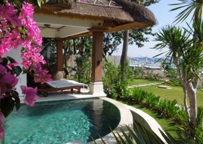 Palm Garden Amed Beach & Spa Resort Bali Teras