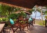 Pesan Kamar Bungalow Deluks, Pemandangan Laut di Palm Leaf Resort