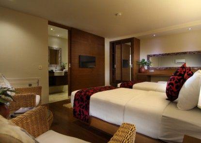 Pandawa All Suite Hotel Kamar Tamu
