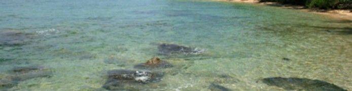Pulau Celagen Pongok Beach