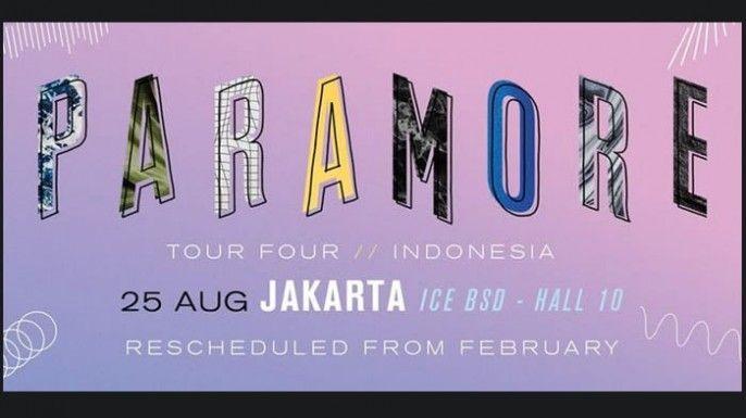 PARAMORE Tour Four Indonesia 2018