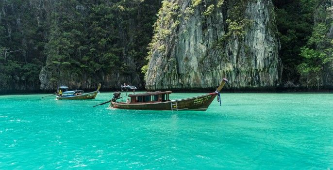 harga tiket Phi Phi and Khai Islands with Maya Bay Tour by Speedboat
