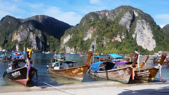 harga tiket Phi Phi Island Tour by Big Boat with Transfers