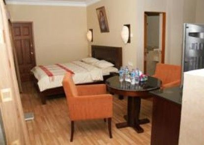 Pia Hotel Pandan Beach Resort Teras
