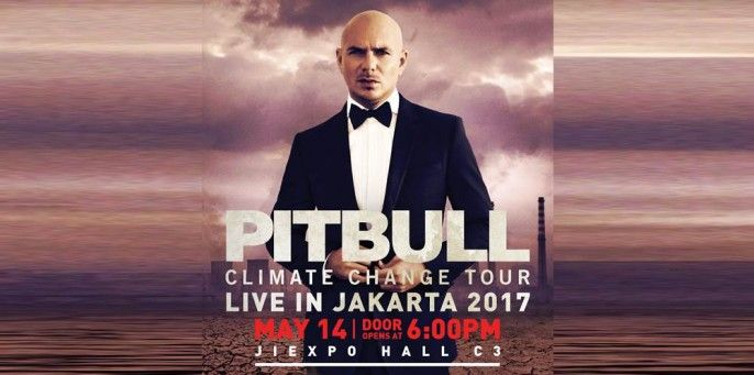 Pitbull Climate Change Tour Live In Jakarta 2017