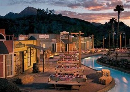 Pointe Hilton Squaw Peak Resort Teras