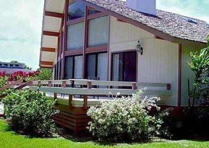 Princeville Oceanfront Villas Teras