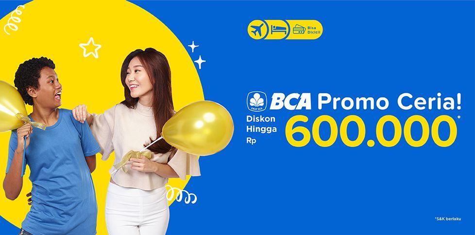 Promo Kartu Kredit BCA hingga Rp 600.000