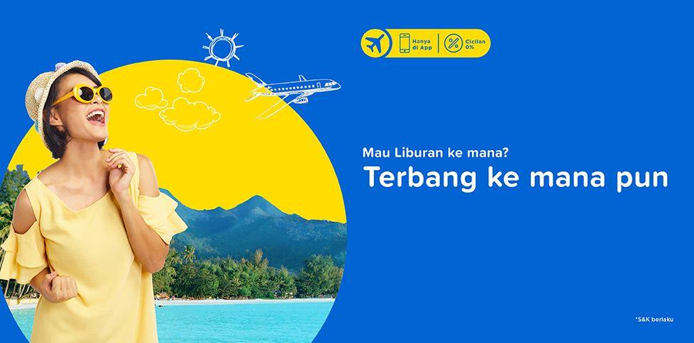 Promo Tiket Pesawat Murah Juli 2018 Rp 125.000