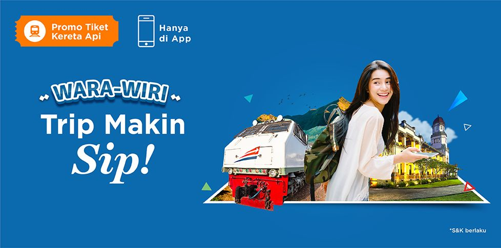 Promo Kereta Libur Lebaran Rp 25.000